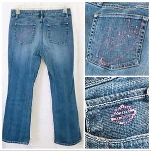 HARLEY DAVIDSON Pink Label Jeans 12
